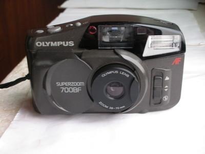 很新奥林巴斯700BF自动对焦旁轴相机,可用5号电池,收藏使用