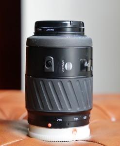 70-210 4.5-5.6 AF自动长焦适配索尼A卡口,不含遮光罩,含UV滤镜