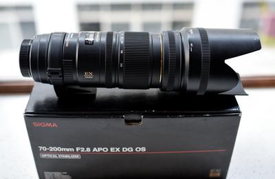 适马 APO 70-200mm F2.8 EX DG OS HSM 五代小黑 (尼康口)