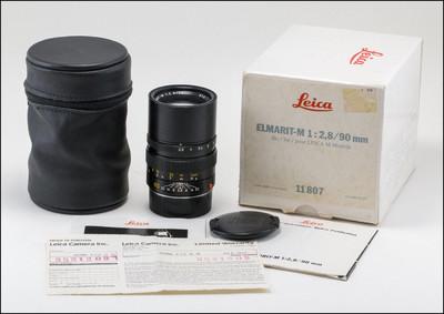 徕卡 Leica M 90/2.8 ELMARIT-M E46 现行版 带包装
