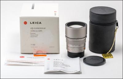 徕卡 Leica M 90/2 APO ASPH 钛版 带包装
