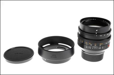 徕卡 Leica M 50/1.0 NOCTILUX-M 二代 夜神 带滤镜 光罩