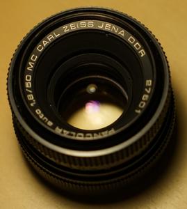 东蔡三剑客之一 Carl Zeiss Jena Pancolar 50mm 1.8