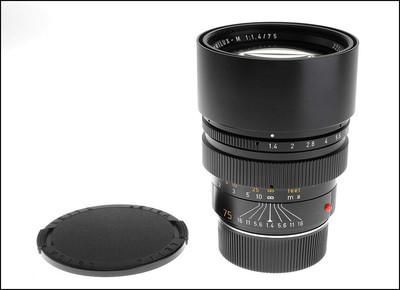 徕卡 Leica M 75/1.4 SUMMILUX-M 二代 加产
