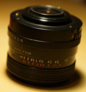 蔡司 东蔡三剑客之一 Carl Zeiss Jena 35mm 2.4 经典镜头