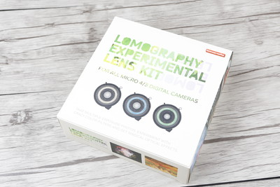 个人出售全新Lomography Experimental 实验式镜头套装