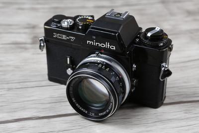 个人出售98新 美能达Minolta MC Rokkor-PF 55mm/F1.7