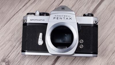 个人出售85新Pentax Spotmatic特别版