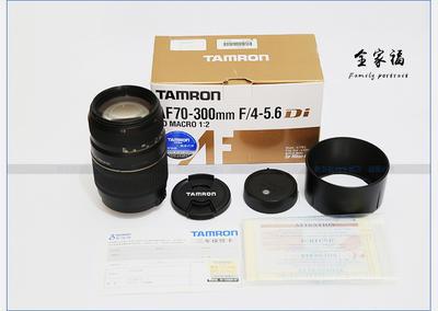 腾龙 AF70-300mm f/4-5.6 Di LD Macro 1:2(A17)佳能口