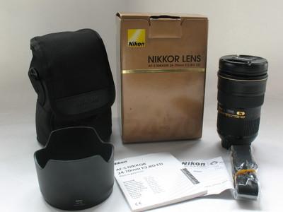 成色极好 原装 尼康AF-S 24-70 F2.8G ED 镜皇 带包装镜头筒#5020