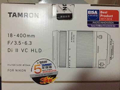 腾龙 18-400mm F3.5-6.3 Di II VC HLD (尼康口)