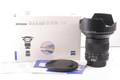 蔡司 Carl Zeiss Distagon T* 21mm f/2.8 一代 全套包装 尼康口