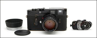 徕卡 Leica M3 + 50/1.4 原版黑漆 套机 送测光表