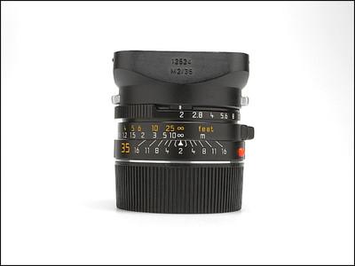 伟德betvictor_徕卡 Leica M 35/2 德产7枚玉 后期方字版