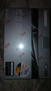 99新,带五年保修证书 腾龙SP Di 70-300mm f/4-5.6 VC USD 转