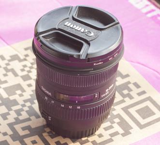 适马 10-20mm f/4.0-5.6 EX DC HSM(佳能口)带UV镜