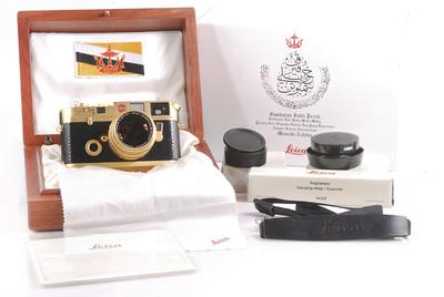 皇室订制徕卡M6 汶萊苏丹登基25周年黃金版 #HK7537