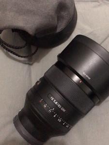SONY全画幅定焦镜头 FE 85mm F1.4 GM 国行 99新 急出