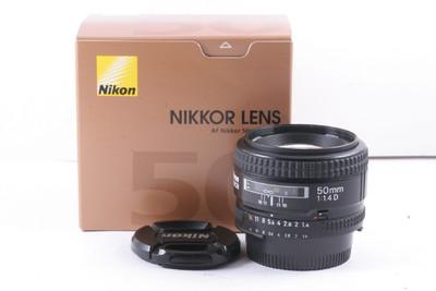 96/尼康 NIKON AF 50/1.4D 极新净(全套包装)