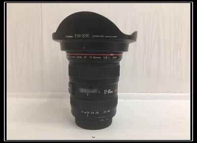 《天津瑞亚》98新 佳能 EF 17-40/4L USM镜头