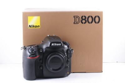 95/尼康 D800 全幅数码机 极新净(全套包装)快门数是2385次