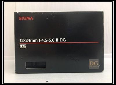 《天津瑞亚》98新 适马 12-24/4.5-5.6 EX DG HSM II 尼康口