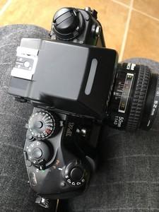 尼康 F4S  功能完好 经典自动机皇 带50 1.4D大光圈镜头