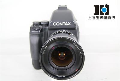 Contax康泰时 645AF+35/3.5+后背+马达 中画胶片套机 实体现货