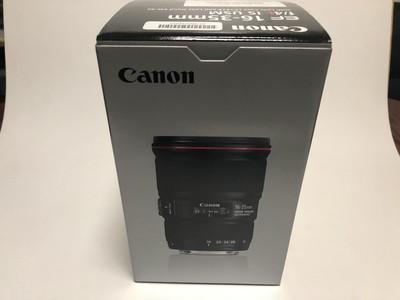 999新  佳能 16-35mm f/4L IS  联保行货,无使用痕迹