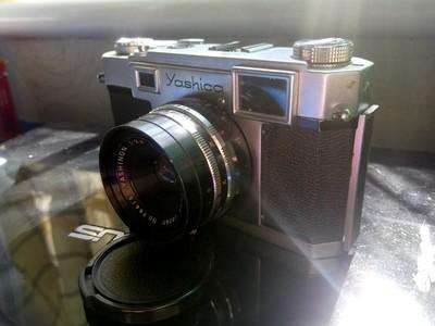 雅西卡35 经典旁轴相机