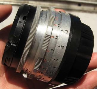尼康口德产梅耶Meyer-Optik Gorlitz Primagon 35 4.5镜头白银