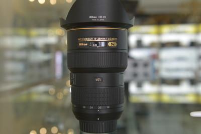 出一台非常新的尼康 AF-S尼克尔16-35mm f/4G ED VR
