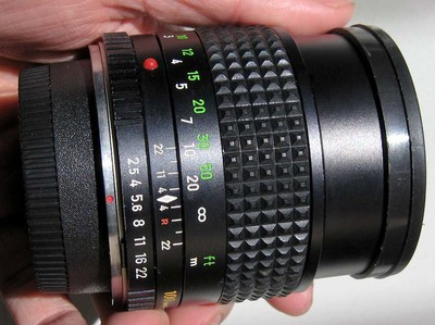 nikon尼康口美能达Minolta MC TELE ROKKOR 100 2.5手动镜头