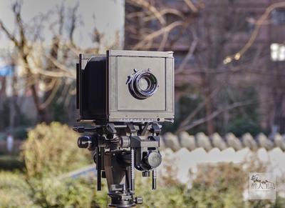 瑞士仙娜 sinar F 相机 带器材箱、延长轨