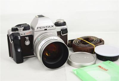 Pentax宾得 LX 2000+A 50/1.2 钛金限量版 135胶片单反 实体现货