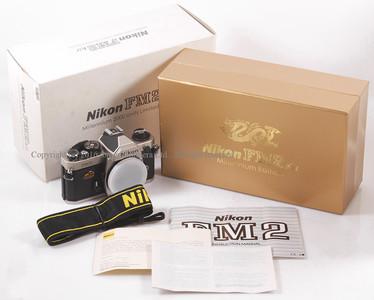 全新 尼康 FM2 机身(2000年龙年版)带包装 #HK6747
