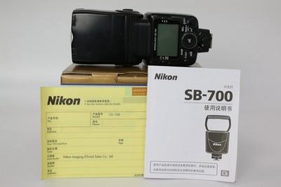 90新二手 Nikon尼康 SB-700 闪光灯 适用d750 d800(W07319)武