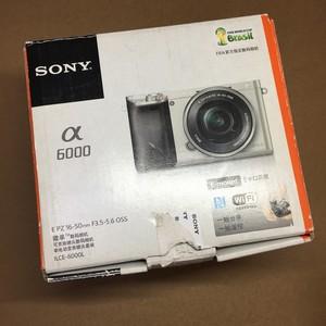 SONY 索尼 A6000 16-50 套机 行货原包装 配件全