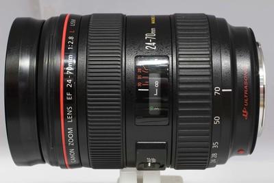 【全画幅标准变焦镜头】佳能 EF 24-70/2.8L USM(NO:2423)