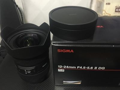 适马 12-24mm f/4.5-5.6 EX DG HSM II (尼康口)