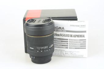 95新 适马 12-24mm f/4.5-5.6