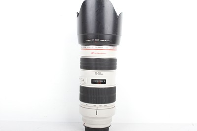 93新二手Canon佳能 70-200/2.8 L 小白变焦镜头(B95305)【津】