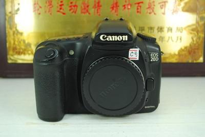 佳能 20D 单反数码相机 中端金属 入门练手 性价比高 可置换