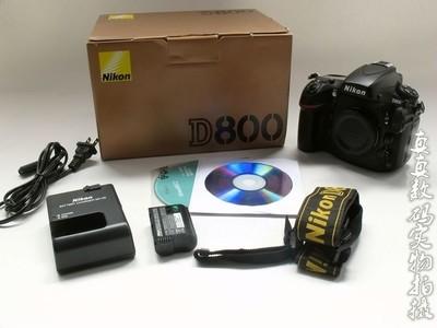 成色还行 原装 尼康D800 高性价比全副相机 原电原充带包装 #3352