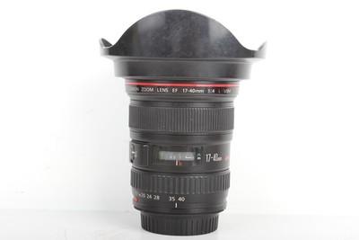 93新二手 Canon佳能 17-40/4 L USM 广角镜头(B95293)【亚】