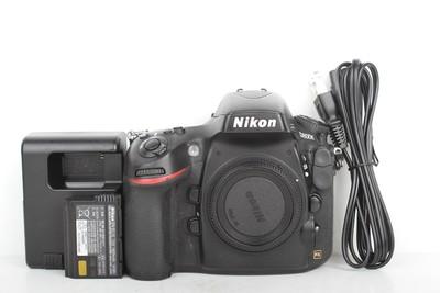 97新二手Nikon尼康 D800E 单机 快门7800多次(B95351)【津】