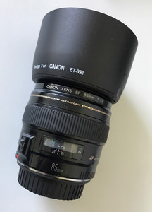 佳能 EF 85mm f/1.8 USM 佳能人像镜头EF85/1.8特价底价出售