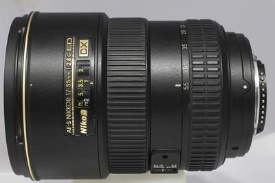尼康 AF-S DX 17-55/2.8G IF-ED(NO:1408)