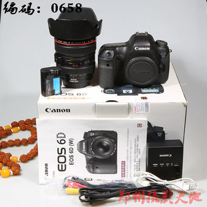 佳能 6D 单反相机 编码 0658