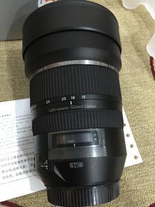 腾龙 SP 15-30mm f/2.8 DI VC USD(A012) (佳能口)